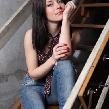 una chica rusa